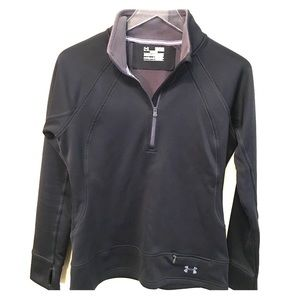 UNDER ARMOUR Semi-Fitted Cold Gear black